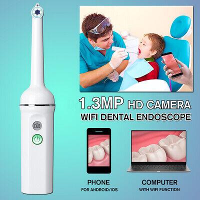 Hd Wifi Led Light Oral Dental Intraoral Camera Endoscope Waterproof Teeth
