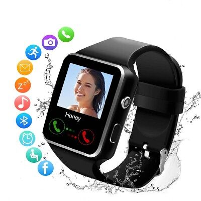 Waterproof Touch Screen Smart Watch For Samsung Android Support SIM Bluetooth X6