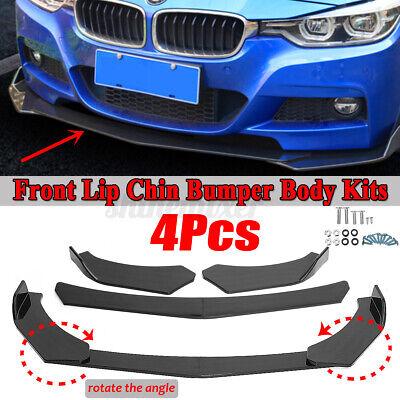 Carbon Fiber Front Bumper Lip Splitter Spoiler For BMW F30 F80 M3 F82 M4 320i