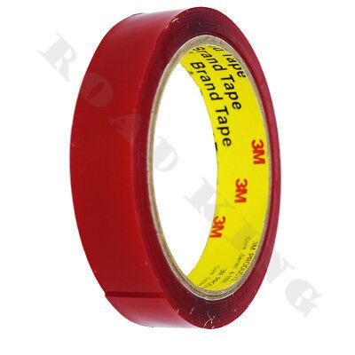 .Doppelseitiges Klebeband Aufkleber Montage Hochleistung Klebestreifen Rot 20mm.