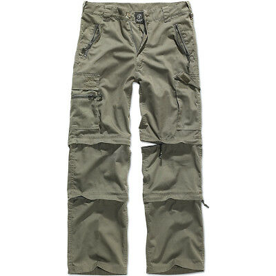 Brandit Savannah 3 In 1 Trekking Trousers Hiking Shorts Cott