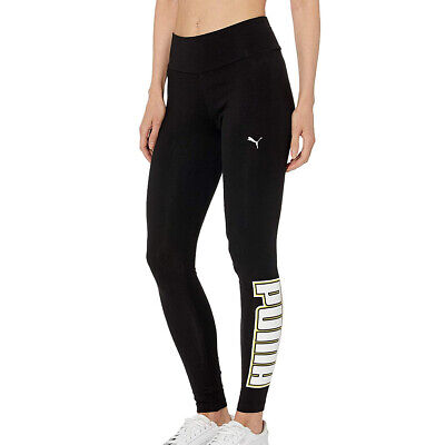 Puma Rebel Reload Womens Ladies Sports Fitness Legging Black