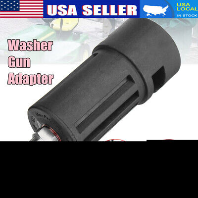 Pressure Washer Gun Lance Fitting Adapter For Karcher K to 1/4