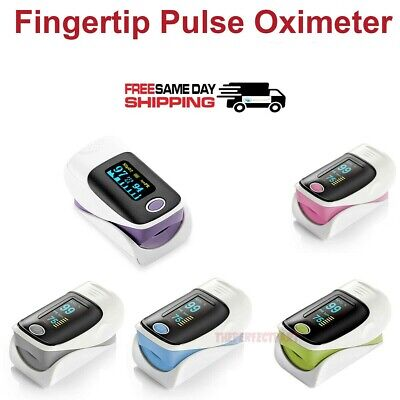 Finger Pulse Oximeter Blood Oxygen Spo2 Monitor Pr Pi Respiratory Rate-fast Ship