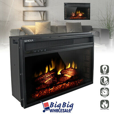 1400w 27 adjustable electric fireplace heater wall