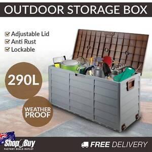 Free Delivery: Outdoor Lockable Storage Weatherproof Box Garden Melbourne CBD Melbourne City Preview