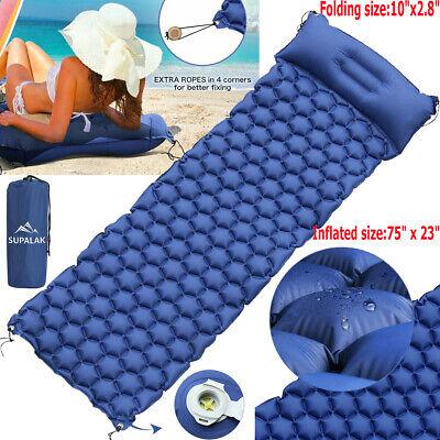 "Camping Sleeping Mat Pad Picnic Mat hiking backpacking bed roll Thick0.4/"" 10mm"