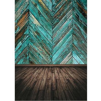 5x7Ft Vinyl Cloth Wood Wall Floor Photography Background Photo Studio Backdrops