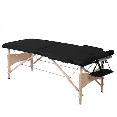 Goplus 2 Zonen Massagetisch Massageliege Massage Bank Therapieliege Klappbar