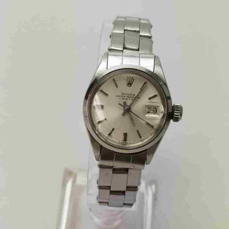 Rolex Watch OYSTER PERPETUAL DATE 6516 25mm Automatic  Women's   Silver 1502911