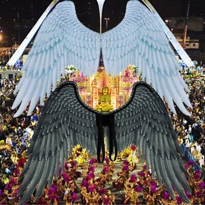 Large Unisex Angel Wings Carnival Party Cosplay Wedding Costume Props](Angel Wings Costumes)