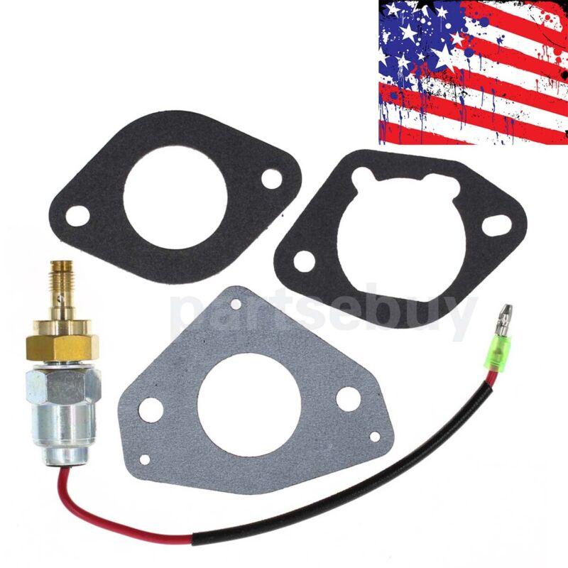 Carb Fuel Solenoid Kit for Kohler Part # 24-757- 45S CV22 CV23 CV680 SV720 SV810