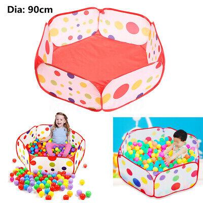 Portable 90CM Kid Toy Ocean Ball Pit Pool Indoor Outdoor Bab