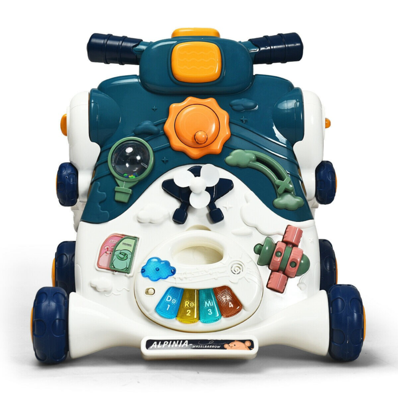 3-In-1 Baby Sit-To-Stand Walker With Music And Lights - $63.69