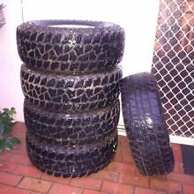 "31"" MICKEY THOMPSON ATZ tyres on rims 99% patrol landcruiser Castlemaine Mount Alexander Area Preview"