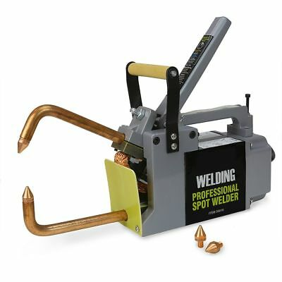 Electric Spot Welder 18 Single Phase Portable Handheld Welding Tip Gun 220 V
