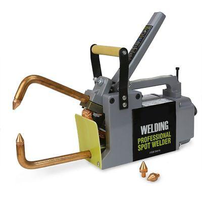 Electric Spot Welder 18 Single Phase Portable Handheld Welding Tip Gun 220 V