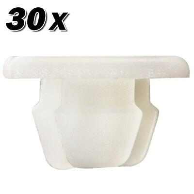 30pcs Nylon License Plate Clips Nut Clip for Hummer H3T H3 Aura C3500 C2500 G6