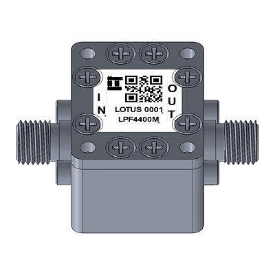 Low Pass Filter Ltcc Construction Pass Band Dc-4400mhz