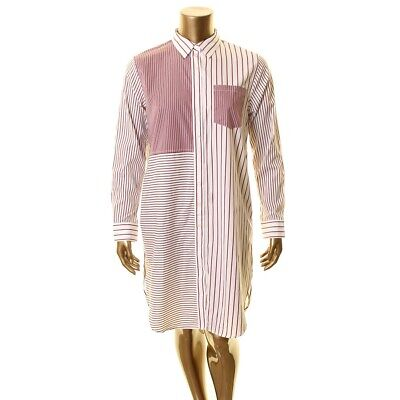 LAUREN RALPH LAUREN NEW Women's Striped Shirt Dress TEDO