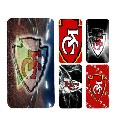 wallet case kansas city chiefs iphone 7 iphone 6 6+ 5 7 X XR XS MAX case 5 City Wallet