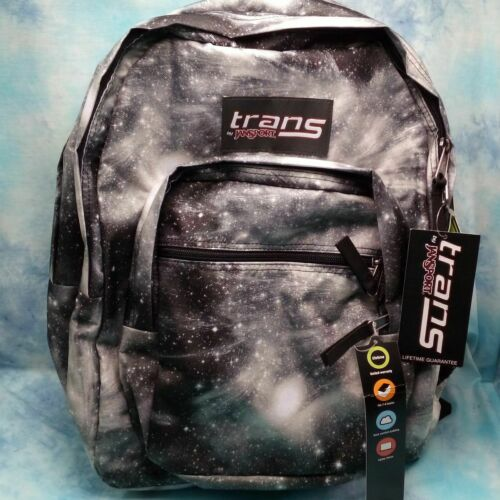 Trans by JanSport 17in Supermax Backpack - Gray Galaxy