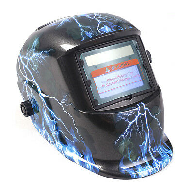 Auto Darkening Welding Helmet Mask Welders Arc Tig Mig Solar Powered W/Grinding