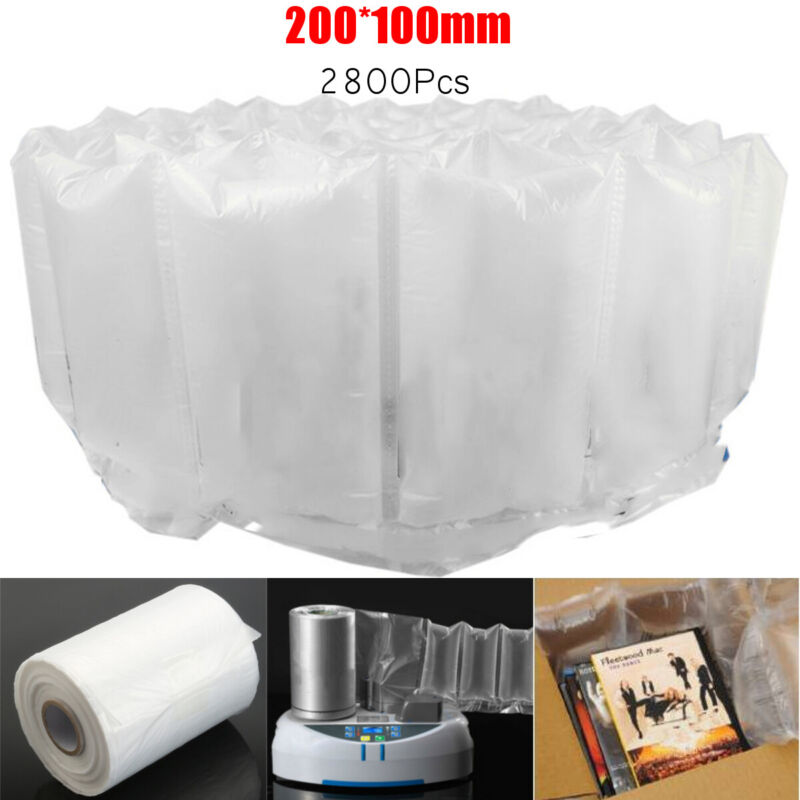 "US Air Pillow Packaging Bag Package Film Roll 2800Pcs 8x4"" for Cushion Machine"
