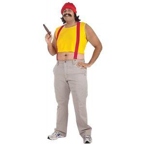 Cheech Costume Adult Cheech & Chong Halloween Fancy Dress