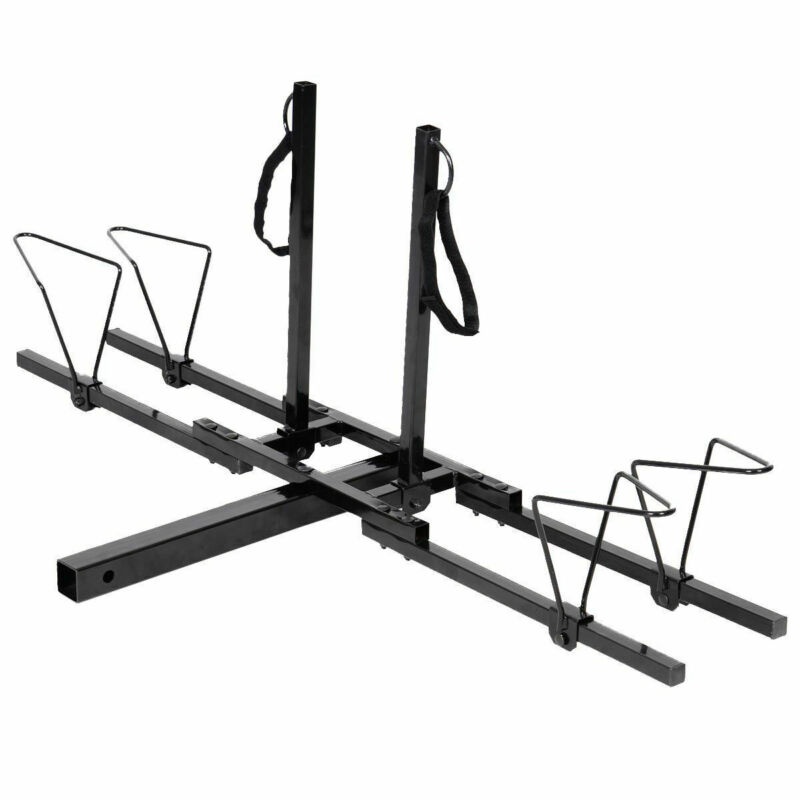 2 Bike Bicycle Carrier Hitch RACK Receiver 2