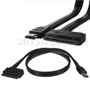 22Pin SATA to eSATA USB Combo Data Adapter Cable for 2.5'' 3.5'' Hard Disk Drive