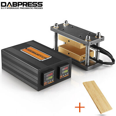 3x5 Rosin Caged Plate Kit Rosin Press Machine Bamboo Plank For Insulation