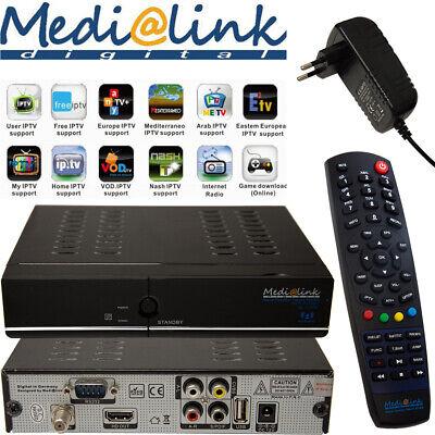 1080p Smart Hdtv (Media@link Smart Home SAT TV + IPTV Receiver LAN HDTV ML 1100 S FullHD Medialink)