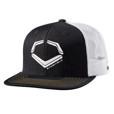 reputable site d75ed 83edd EvoShield Evo Crunch Baseball Snapback Mesh Back EvoShield Snapback Hat Cap