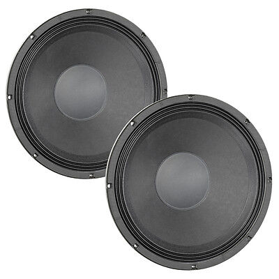 "Pair Eminence Kappa Pro-15LF-2 15"" Woofer 8 ohm 97.8dB 3""VC Replacement Speaker"