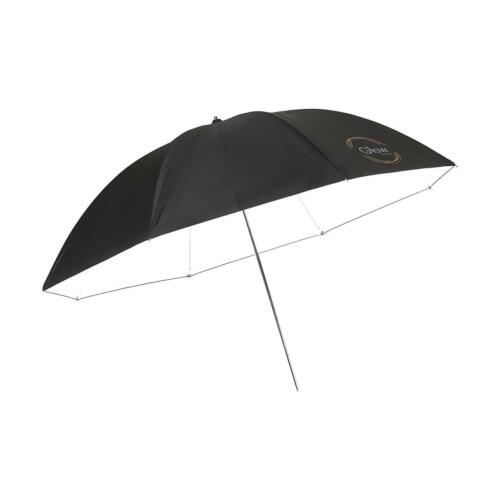 "Glow 72"" White Parabolic Umbrella with Black Back NEW NIB"