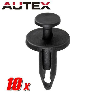 10pcs for Chrysler GM Push Type Hood Coolant Recovery Retainer Fastener Pin