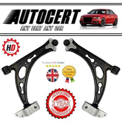 VW SCIROCCO 2008> FRONT LOWER SUSPENSION CONTROL ARMS / WISHBONES - PAIR LH & RH