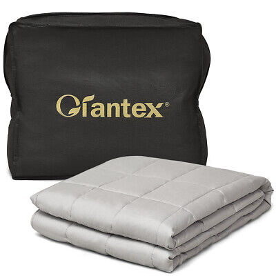 7 lbs Weighted Blankets Twin/Full Size 100% Cotton w/ Glass