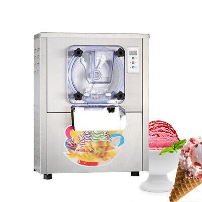 1 Flavor Commercial Frozen Hard Ice Cream Machine Maker 20lh Stainless Steel