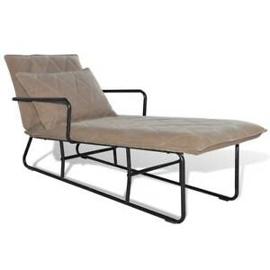 New Items Chaise Longue With Armrest High Qual Sku 241069 Vidaxl