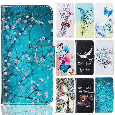 Case For iPhone SE 5S 6S 7 8 Plus Magnetic Folio Stand Wallet Shockproof Cover