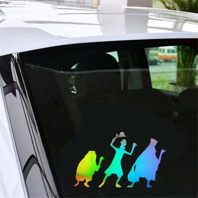Haunted Mansion Horrible Sticker Car Window Bumper Halloween Laptop Vinyl Decal