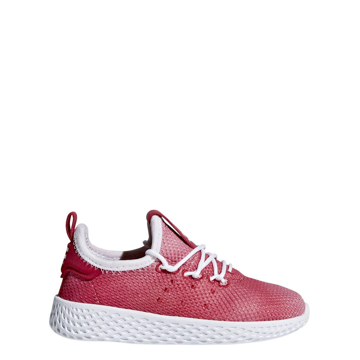 NEW ADIDAS TODDLER PW TENNIS HU SHOES [BB6829]  RED//WHITE