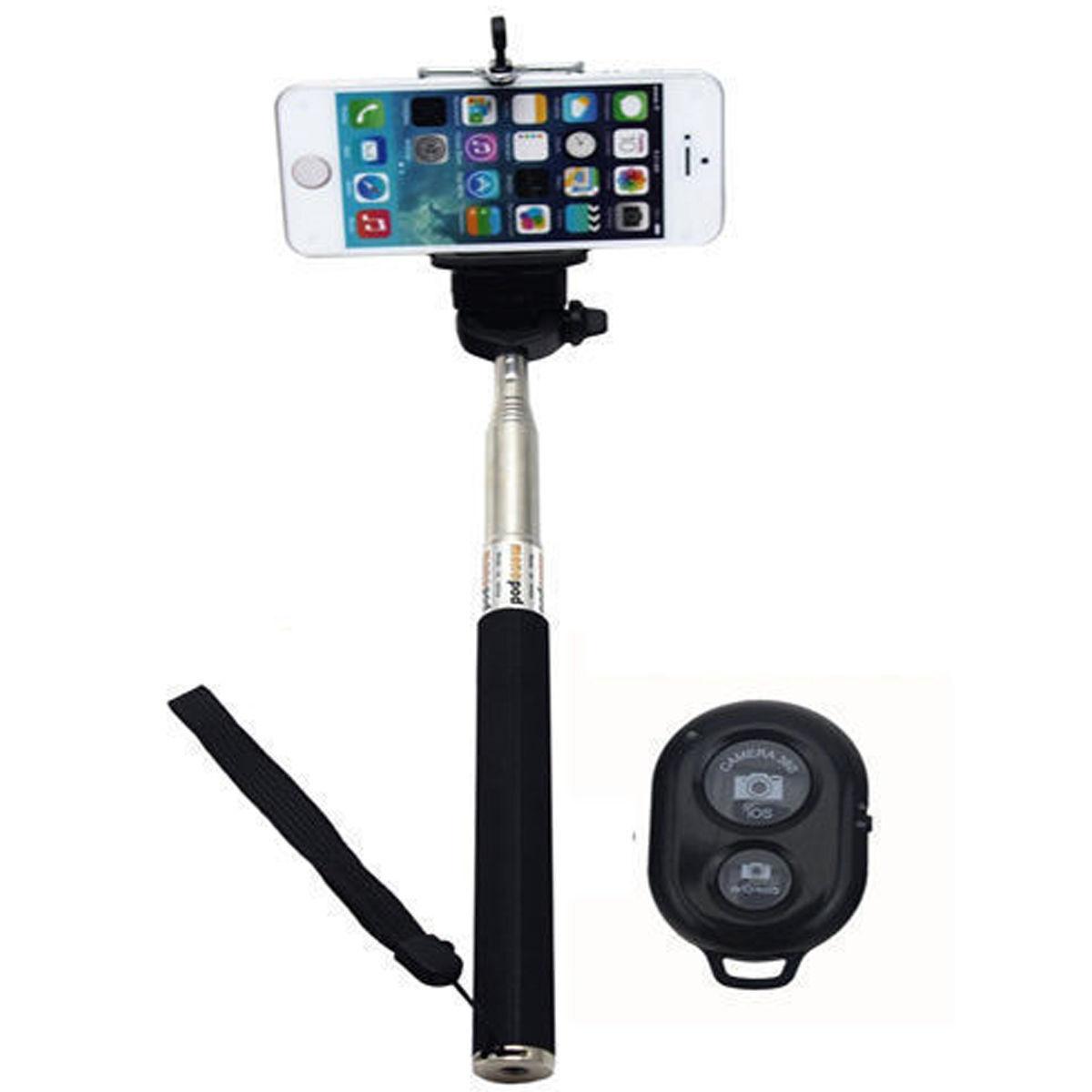 Palo Para Selfie Bluetooth con control remoto para Móvil por solo 3,5€