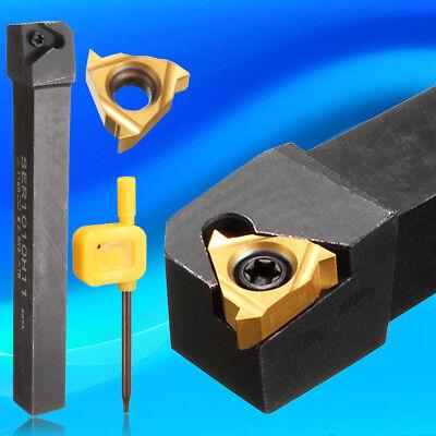 10X100mm Ser1010h11 Lathe Threading Turning Tool Holder 11Er 1 4Ag60 Insert