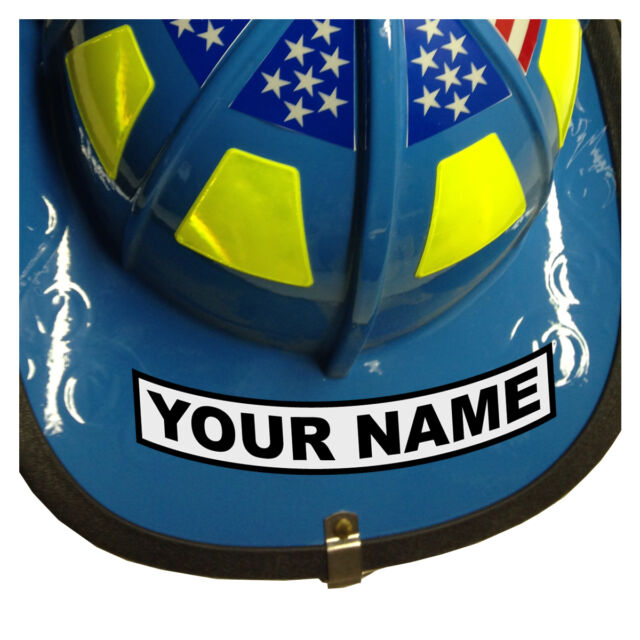 Custom Your Name Reflective Helmet Decal Sticker EBay - Custom reflective helmet decals