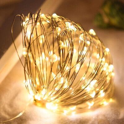 5m Lichterkette Batterie für Party Weihnachten Hochzeit Schlafzimmer Dekoration