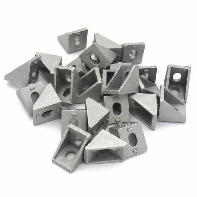 2020 Corner Bracket For 20mm Extrusion Size 20x20x17mm Pack Of 25 S1v8