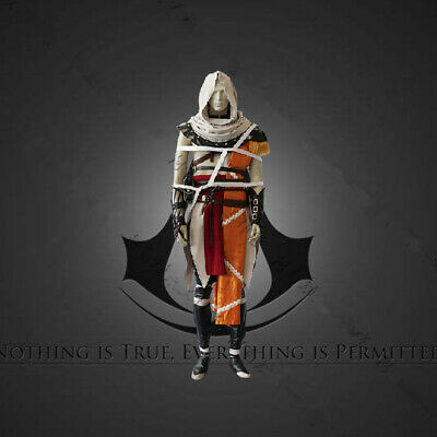 Assassin's Creed Origins Bayek Kleidung Mantel Outfit Cosplay Costume Kostüme